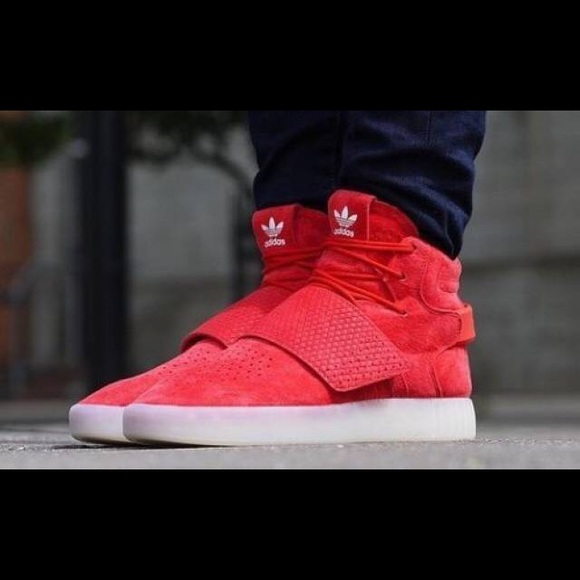sale retailer sneakers best choice Adidas Tubular red